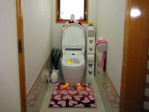 リフォーム後トイレの写真