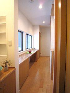 二階廊下の写真