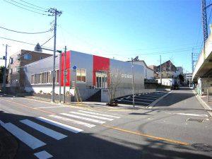 耐震工法テクノストラクチャーで建築した商業施設(さいたま市)事例の外観写真