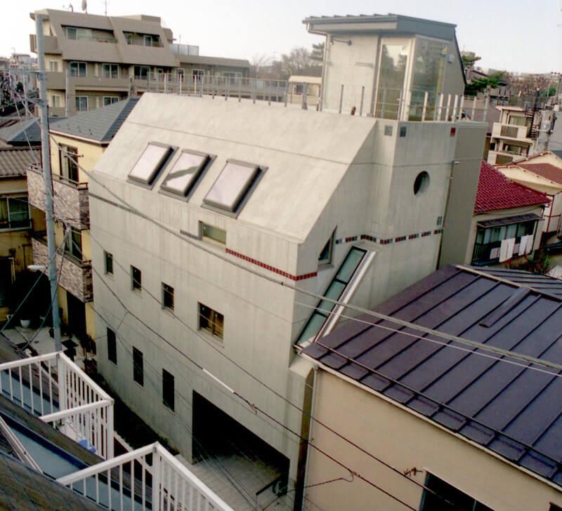 デザイナーによるおしゃれな注文住宅(豊島区)