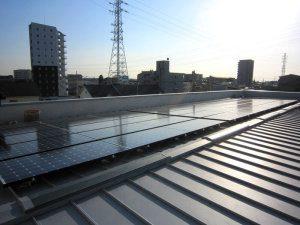 太陽光パネル写真
