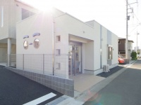 新座市の新築薬局・外観の写真