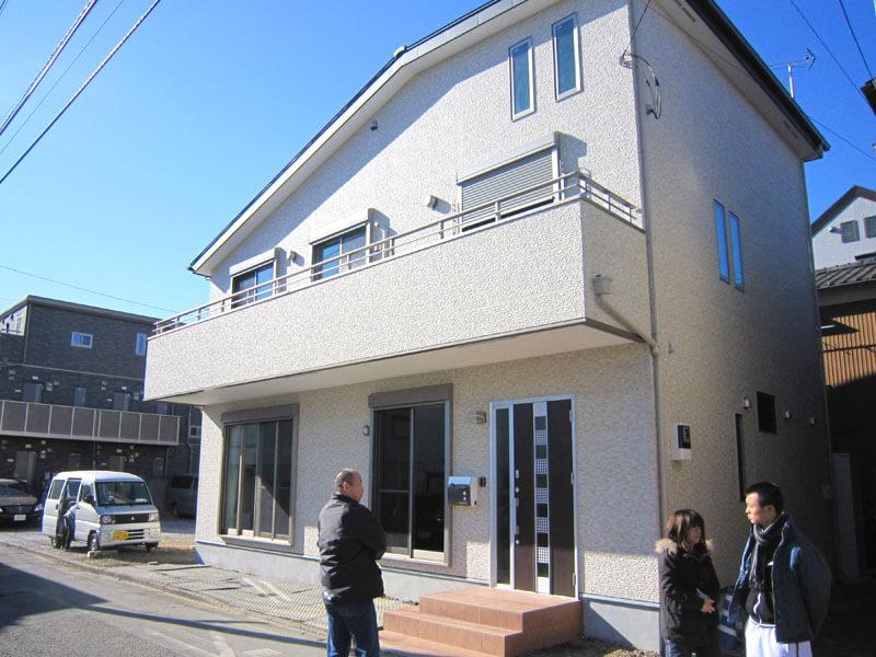 耐震性にこだわった注文住宅(埼玉県蕨市)