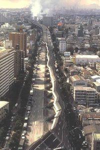 阪神淡路大震災の写真