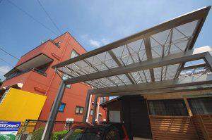 リフォーム後のガレージの写真(屋根)