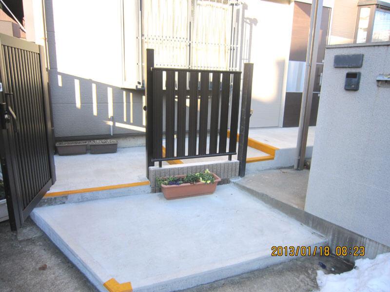 埼玉県川口市の介護リフォーム(玄関等)の事例写真・リフォーム後の玄関