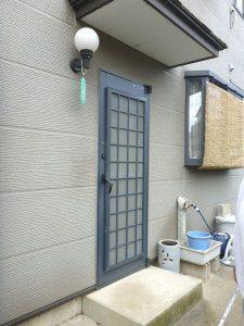 埼玉県川口市の介護リフォーム(玄関等)の事例写真・リフォーム前の玄関2