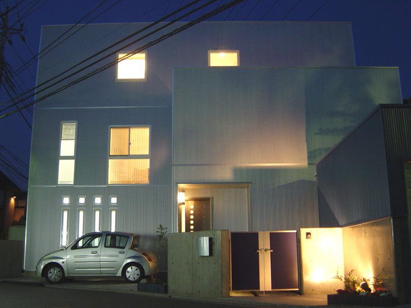 3階建ての耐震住宅(埼玉県さいたま市)
