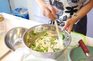 季節野菜の白和え