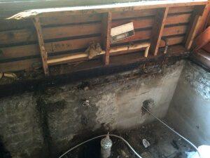 お風呂の解体中6