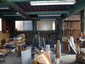 リノベーション前の工場内3。大分片付きました。