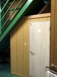 リフォーム後のトイレの外観
