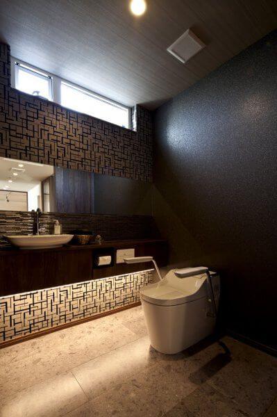 ハウジングショールーム豊洲のトイレ
