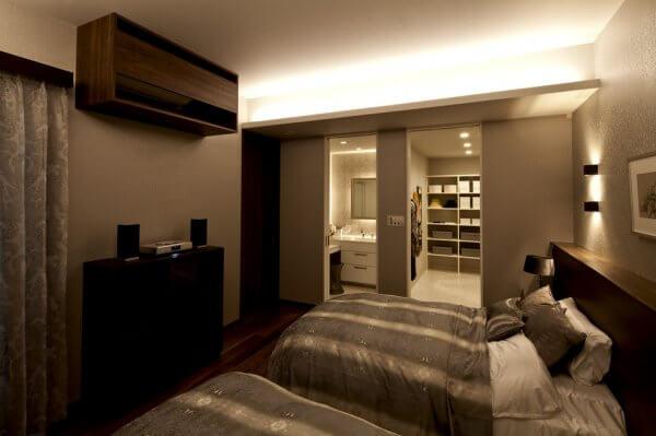ハウジングショールーム豊洲の寝室