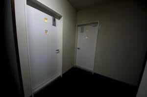 リフォーム後のトイレの入口