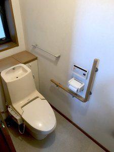 二階のトイレ