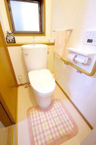 リフォーム後の1階のトイレ