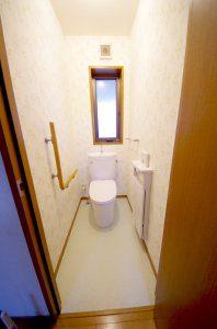 リフォーム後の2階のトイレ
