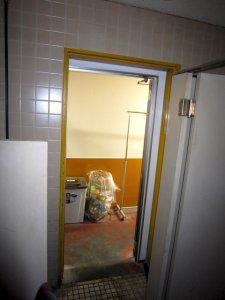 リフォーム前のトイレの入口
