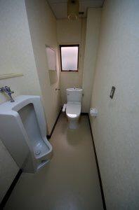 リフォーム後は洋式のトイレとなり、掃除も容易となった。