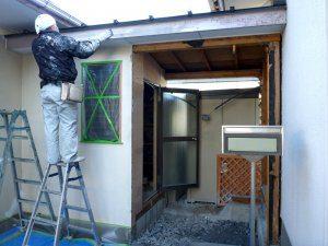 外壁についても、塗装をしなおしている。