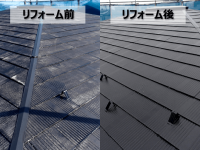 外壁と屋根の塗装(埼玉県川口市)