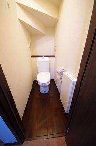 1階のトイレ(リフォーム前)