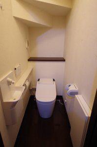 1階のトイレ(リフォーム後)