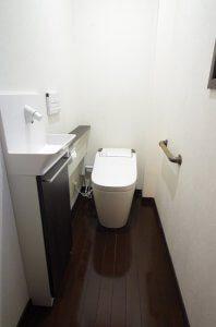 2階のトイレ(リフォーム後)