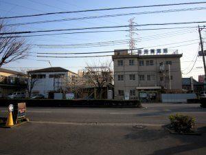 芝中央病院の建て替えを行う前の建物