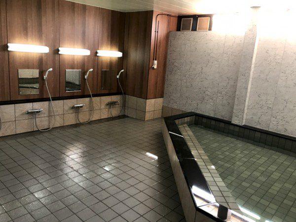 リフォーム後の大浴場