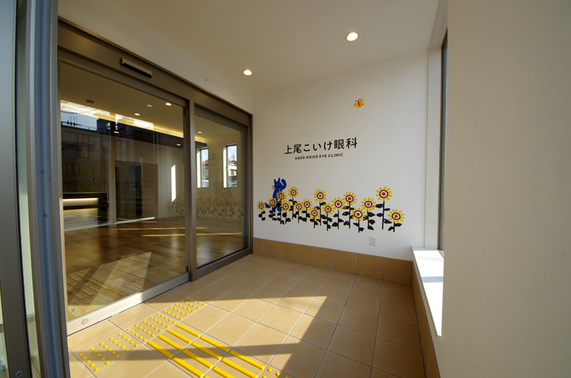 上尾こいけ眼科様新築工事(埼玉県上尾市)