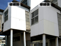 川口市立北中学校の外壁修繕【川口市公共工事】