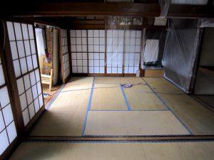畳敷きの和室。リフォーム前
