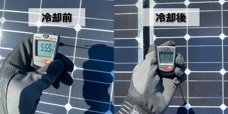 暑い工場・会社は屋根から冷やす